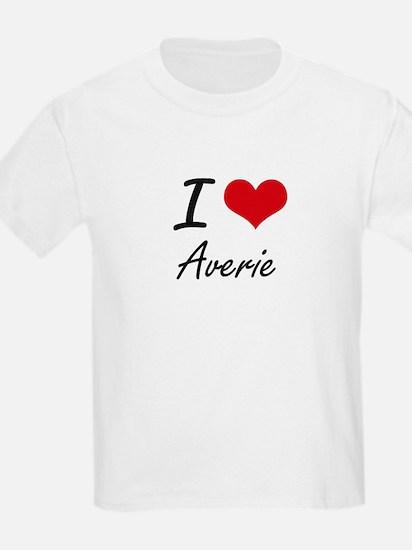 I Love Averie artistic design T-Shirt