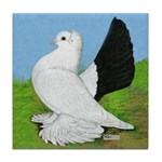 Russian Pigeon Tile Coaster