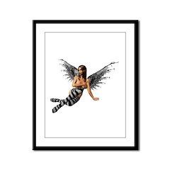 Emo.Angel Framed Panel Print