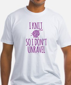 Knit So I Don't Unravel T-Shirt