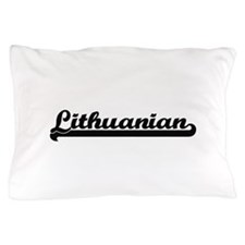 Lithuanian Classic Retro Design Pillow Case