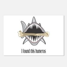 Funny Shark Postcards (Package of 8)