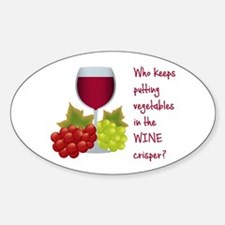 Funny Wine Lovers Quote Decal