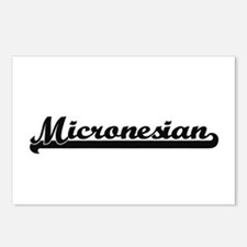 Micronesian Classic Retro Postcards (Package of 8)