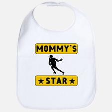Mommys Lacrosse Star Bib