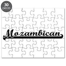 Mozambican Classic Retro Design Puzzle