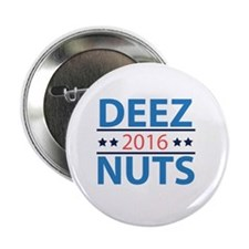"Nuts 2.25"" Button"