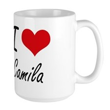 I Love Camila artistic design Mugs