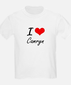 I Love Camryn artistic design T-Shirt