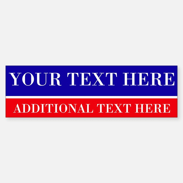Political Bumper Stickers Car Stickers Decals  More - Custom vinyl stickers for walls   for your political campaign