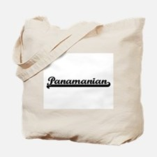 Panamanian Classic Retro Design Tote Bag