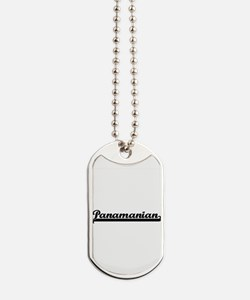 Panamanian Classic Retro Design Dog Tags