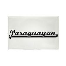 Paraguayan Classic Retro Design Magnets