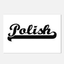 Polish Classic Retro Desi Postcards (Package of 8)