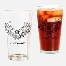 Undeniable Destiel Love  Drinking Glass