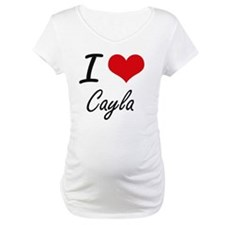 I Love Cayla artistic design Shirt