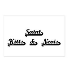 Saint Kitts & Nevis Class Postcards (Package of 8)
