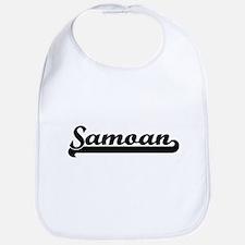 Samoan Classic Retro Design Bib