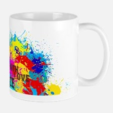 Splash Words of Good Peace Mugs