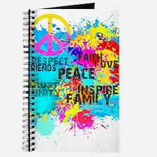 Splash Words of Good Peace Journal