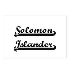 Solomon Islander Classic Postcards (Package of 8)