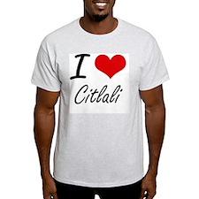 I Love Citlali artistic design T-Shirt
