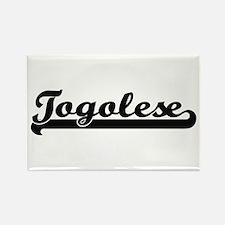 Togolese Classic Retro Design Magnets