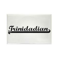 Trinidadian Classic Retro Design Magnets