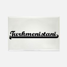 Turkmenistani Classic Retro Design Magnets