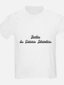 Turks & Caicos Islander Classic Retro Desi T-Shirt