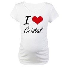 I Love Cristal artistic design Shirt