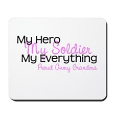 My Everything Army Grandma Mousepad