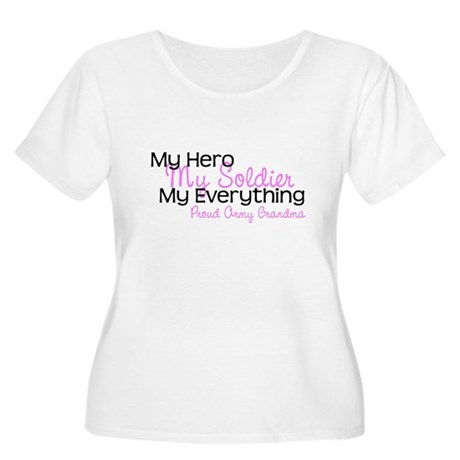 My Everything Army Grandma Women's Plus Size Scoop