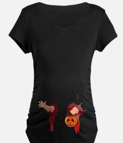 Funny Halloween Baby Maternity T-Shirt