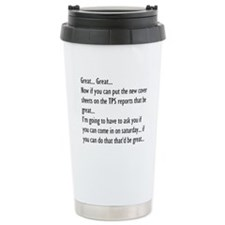 Funny Office workers Travel Mug