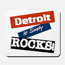 Detroit Rocks Mousepad