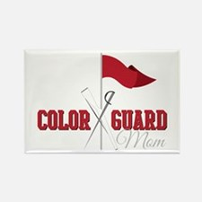 Color Guard Mom Magnets