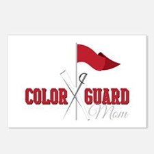 Color Guard Mom Postcards (Package of 8)