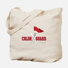Color Guard Mom Tote Bag