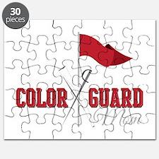 Color Guard Mom Puzzle