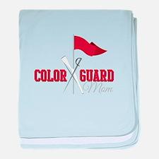 Color Guard Mom baby blanket