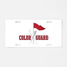Color Guard Aluminum License Plate
