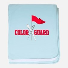 Color Guard baby blanket