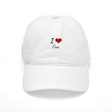 I Love Fiona artistic design Baseball Baseball Cap