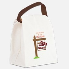 New Home Canvas Lunch Bag