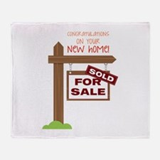 New Home Throw Blanket