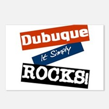 Dubuque Rocks Postcards (Package of 8)