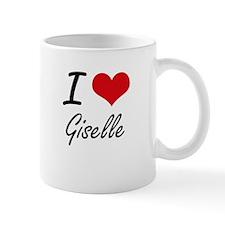 I Love Giselle artistic design Mugs