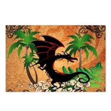 Funny dragon Postcards (Package of 8)