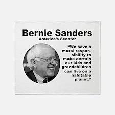 Sanders: Environ Throw Blanket
